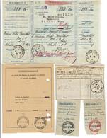 5 Oblitérations De Poste Ou Chêques Postaux DIJON- VICHY- LYON Années 1930/1950 - 992 - Manual Postmarks