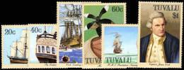 Tuvalu 1988 Voyages Of Captain Cook Unmounted Mint. - Tuvalu