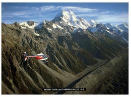 (RR 32) New Zealand - Tasman Valley - Mount Cook Hwlicopter - Elicotteri