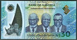 Namibia - 30 Dollars - 2020 - Pick New - Unc. - Polymer - Commemorative - Namibie