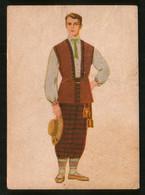 LITHUANIA Old Pc Men's Folk Costume - Litouwen