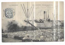 Le Havre Déchargement De Coton - Hafen