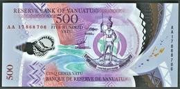 Vanuatu - 500 Vatu - 2017 - Unc. - Pick 18 - Serie AA - Polymer - Vanuatu