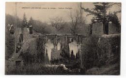 04 - GRÉOUX Les BAINS Sous La Neige - 1919 (B82) - Gréoux-les-Bains