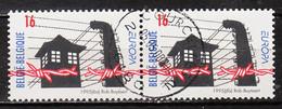 2597A  Europa - Bonne Valeur - Paire Horizontale - Oblit. Centrale - LOOK!!!! - Used Stamps