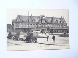 SAINT QUENTIN  -  02  -  Place De La Gare   - AISNE - Saint Quentin