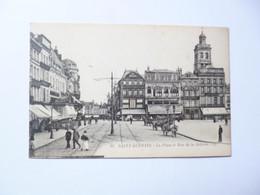 SAINT QUENTIN  -  02  -  La  Place Et Rue De La Sellerie  - AISNE - Saint Quentin