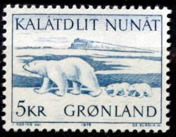 Greenland   1976 MiNr.96 Polar Bear / Ours Blanc /  Polarbär  MNH  (**) ( Lot F 997 ) - Unused Stamps