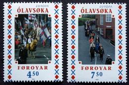 Faroe Islands  1998 EUROPA / CEPT   MiNr.338-39 MNH (**)   ( Lot F 1722 ) - Islas Faeroes