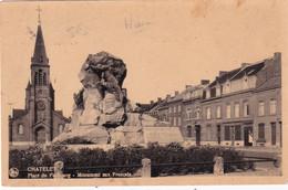 DEND Chatelet Place Du Faubourg Monument Aux Francais - Chatelet
