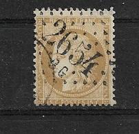 FRANCE  N° 59       OBLITERE - 1871-1875 Ceres
