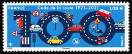 France 2021 - 100 Ans Du Code De La Route ** - Nuevos