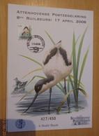A.Buzin A5 Kaart Genummerd Attenhoven 8ste Ruilbeurs 427 / 450 - 1985-.. Oiseaux (Buzin)
