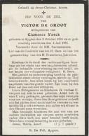 Aaigem,Aygem, 1931, Victor De Groot, Vonck - Santini