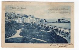 SALUTI DA NAPOLI VIAGGIATA 1920 FORMATO PICCOLO - Napoli (Naples)