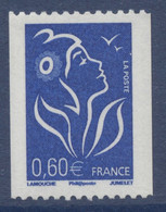 N° 3973 Marianne De Lamouche Roulette Valeur Faciale 0,60 € - 2004-08 Marianna Di Lamouche
