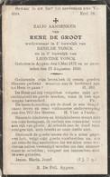 Aaigem,Aygem, 1930, Rene De  Groot, Vonck - Santini