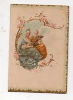 Menu ( Utilisé) Du 1e Août 1900  (imprimé à Rodez) (2 Scans)  (PPP29627) - Menus