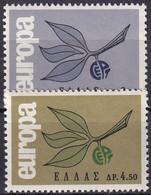 GRIECHENLAND 1965 Mi-Nr. 890/91 ** MNH - Nuovi