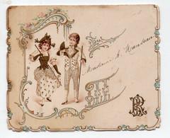 Cozes (17 Charente Maritime) Menu (utilisé) Du 8 Septembre 1896  (2 Scans) (PPP29628) - Menus