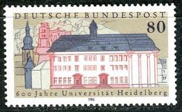 BRD - Mi 1299 ✶✶ # - 80Pf   600 Jahre Uni Heidelberg - Unused Stamps