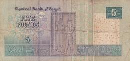 Egypte - Billet De 5 Pounds - 2 Mai 2002 - P63a - Egypte