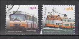 Portugal 2010 Transportes Públicos Urbanos 4º Grupo Transports Trasporto Transporte Autocarro Articulado Cacilheiro Boat - Used Stamps