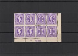 BIZONE 1945 Nr 1 Postfrisch (213607) - American/British Zone