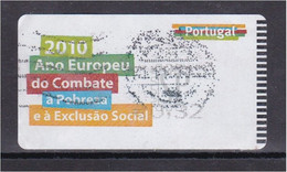 Portugal 2010 Ano Europeu Combate Pobreza Exclusão Social Année Européenne Contre La Pauvreté Exclusion Sociale Atm - Used Stamps