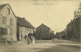 Audincourt Grande-rue Enseigne Bureau Des Douanes édit Cartophile Barbier-Bourquin Valentigney Doubs Série A N°116 Neuve - Altri Comuni