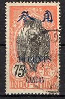 CANTON ( POSTE ) : Y&T  N° 79  TIMBRE  OBLITERE . A  SAISIR . - Usados