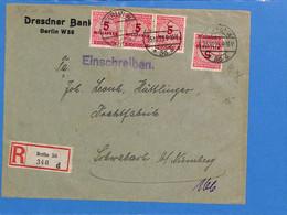 Allemagne Reich 1923 Lettre De Berlin (G2085) - Storia Postale