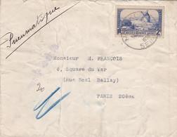 FRANCE Lettre PNEUMATIQUE 1938 - 1921-1960: Modern Tijdperk