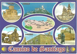 Santiago De Compostela (Galicia, Espana) Camino De Santiago, Vistas, Vedute, Views, Vues - Santiago De Compostela