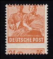 951 Maurer/Bäuerin 24 Pf. Mit Starker Verzähung Durch Das Markenbild, ** - American,British And Russian Zone