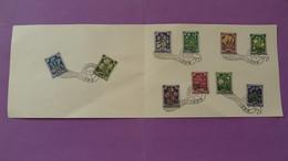 Encart FDC Folder Salzurger Festspiele Salzburg Autriche Austria 1955 - 1945-60 Lettres