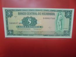 NICARAGUA SERIE 5 CORDOBAS Peu Circuler/Neuf (B.23) - Nicaragua
