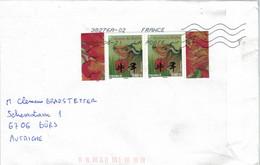 Jahr Des Büffels - Chinesischer Kalender - 38276 Zusammendruck Allonge 2021 - Storia Postale