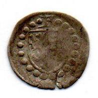 GERMAN STATES - SALM-DHAUN, 1 Pfennig, Silver, Year N.D. (1601-06), KM #1, UNIFACE - Petites Monnaies & Autres Subdivisions