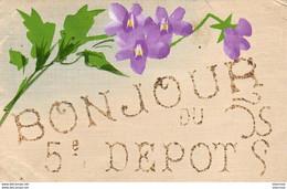 D83  TOULON  Bonjour Du 5 ème Dépôt - Regimente