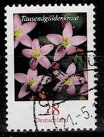 Bund 2014,Michel# 3088 O Blumen: Tausendgüldenkraut - Gebraucht