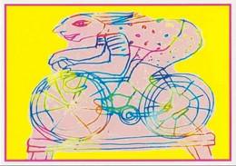 Cpm 1741/726 ERGON - Homme à Bicyclette - Vélo - Cyclisme - Bicycle - Illustrateur - Peintre - Ergon