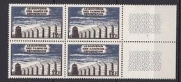 N° 1023  10ème Anniversaire De La Libération Des Camps De Déportation  :Bloc De 4 Timbres Neuf Impeccable - Unused Stamps