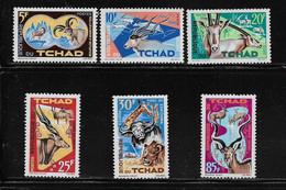 TCHAD  ( AFTC - 207 )  1965  N° YVERT ET TELLIER    N° 104/109    N** - Tsjaad (1960-...)