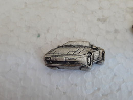 PINS PORSCHE GRISE ACIER - Porsche
