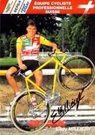 CYCLISME: CYCLISTE : EDDY MILLIERY - Cycling