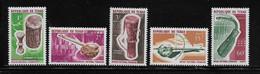 TCHAD  ( AFTC - 213 )  1965  N° YVERT ET TELLIER    N° 114/118    N** - Tsjaad (1960-...)