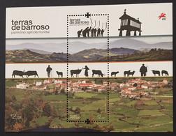 Portugal 2021 - Barroso Lands - World Agricultural Heritage S/S MNH - Unused Stamps