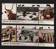 Portugal 2021 - Barroso Lands - World Agricultural Heritage Set MNH - Unused Stamps