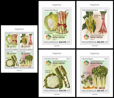 MOZAMBIQUE 2021 - Year Of Vegetables, M/S + 4 S/S. Official Issue [ MOZ210103] - Gemüse